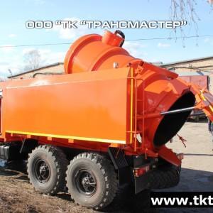 Каналопромывочная машина на базе Урал Урал 4320—1951-60