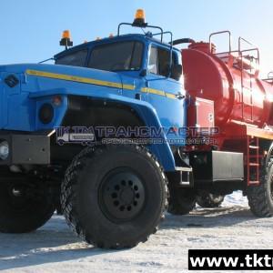 АКНС 10м3 с насосом КО505 на шасси Урал 4320-1951-60М,-70М