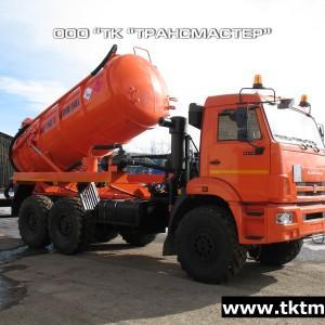 АКНС 10 с насосом PNR122 на шасси КАМАЗ 43118