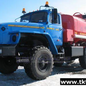 АТЗ 10м3 на шасси Урал 55571-1151-60М, -70М, -72М