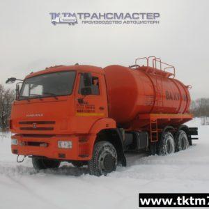 Автоцистерна вакуумная МВ-ОД 15м3 на шасси КАМАЗ 65111-42,46