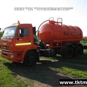 Автоцистерна вакуумная МВ 10м3 на шасси Камаз 65115-А4