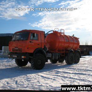 Автоцистерна вакуумная МВ 10м3 ОД на КАМАЗ 43118