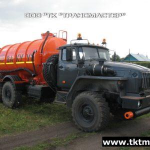 МВ 10 м3 на базе шасси УРАЛ 4320-1951-60МВ 10 м3 на базе шасси УРАЛ 4320 1951 6070