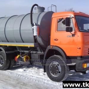 Автоцистерна вакуумная МВ 15м3-ОД на шасси КАМАЗ 65115-А4,-L4,-42