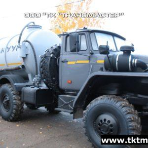 Автоцистерна вакуумная МВ-6м3 на базе шасси Урал 4320-1151-61