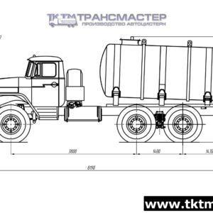 МВ 7м3 на шасси УРАЛ 4320-1151-61, -71