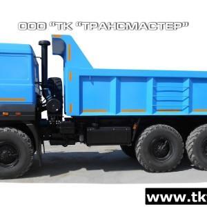 Автомобиль-самосвал 58312G на шасси Урал 55571-4551-78, -80, -82-1