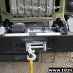 Передняя электрическая лебедка Бизон ЛПЭ 81И 24В