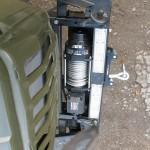 Передняя электрическая лебедка Бизон ЛПЭ 81И 24В (2)