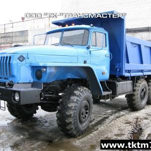 Самосвал 58312F на шасси Урал 55571-1151-60М, 70М