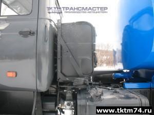 Установка дополнительного топливного бака 200 л. на ДЗК