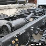Установка задней механической лебедки на шасси Урал (1)