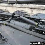 Установка задней механической лебедки на шасси Урал