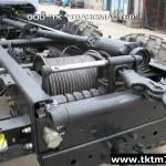Установка задней механической лебедки на шасси Урал (2)