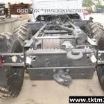 Установка задней механической лебедки на шасси Урал (3)