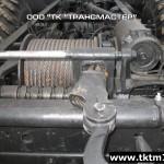 Установка задней механической лебедки на шасси Урал (4)