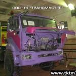 Установка насосная для кислотной обработки скважин СИН32 на шасси КАМАЗ 43118-46