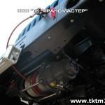 Установка передней электрической лебедки на шасси Урал