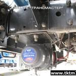 Установка передней электрической лебедки на шасси Урал (2)