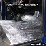 Утепление кабины пенофолом (1)
