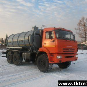 Автоцистерна вакуумная МВ 12м3 на шасси КАМАЗ 43118-46