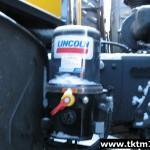 Установка системы смазки LINCOLN