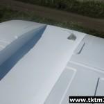 доработка кранового шасси. Понижение бескапотной кабины на 2 градуса под стрелу (1)