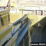 монтаж средней скамейки в бортовой автомобиль (1)