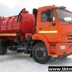 МВ 9м3 (АКНС) c насосом PNR 122 на шасси КАМАЗ 43253-R4