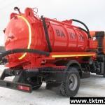 МВ 9м3 (АКНС) c насосом PNR 122 на шасси КАМАЗ 43253-R4,-L4 (2)